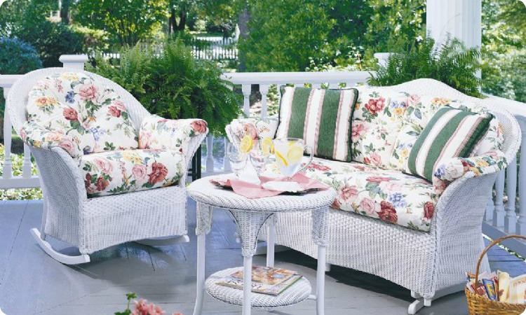 Lloyd Flanders Cushions - Lloyd flanders outdoor furniture