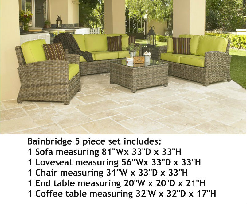 275Set5 - North Cape Bainbridge 5 Piece Set