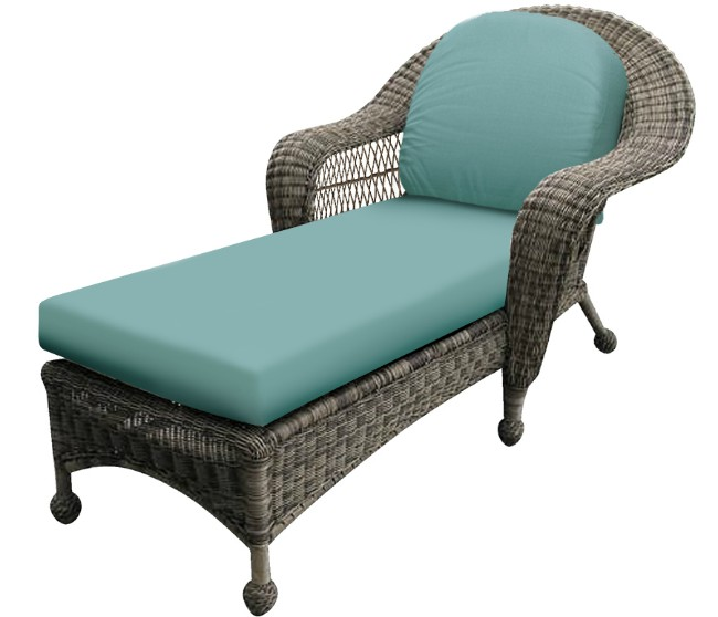 457CL - North Cape Charleston and Port Royal Stationary Chaise Lounge