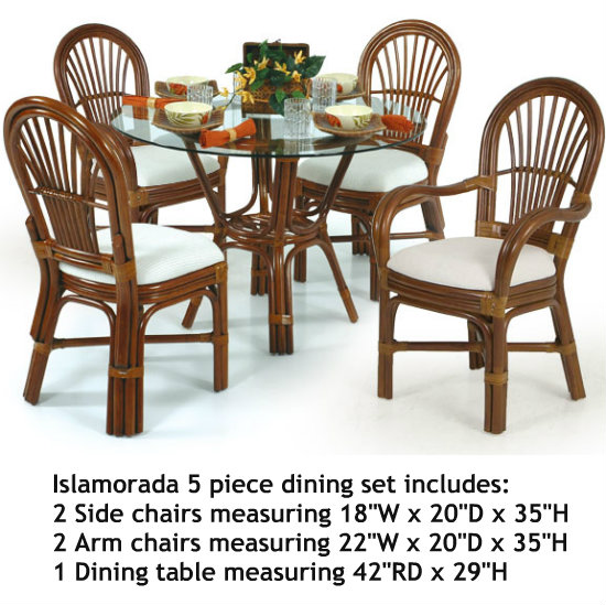 Islamorada 5 Piece Dining Set