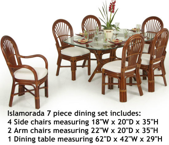 Islamorada 7 Piece Dining Set