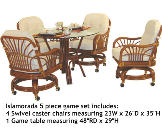5561 Islamorada 5 Piece Swivel Dining Set