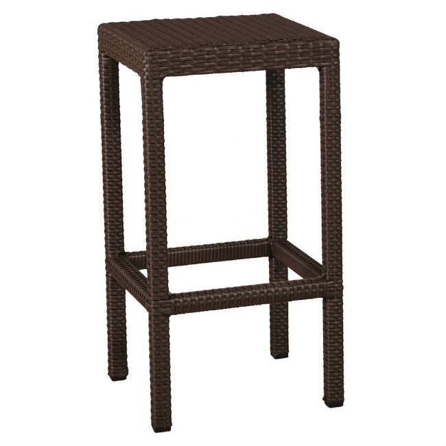 28 wicker bar stools backless cayman collection synthetic w