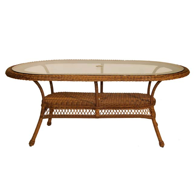 4178DT72 Chasco Designs Sanibel 42 X 72 Dining Table