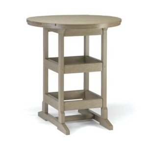 "9952 - 36"" Round Bar Height Table"
