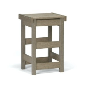 CH_0803 - Flat Seat Counter Stool