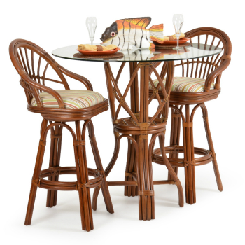 5566 - Islamorada 3 Piece Bar Height Pub Set