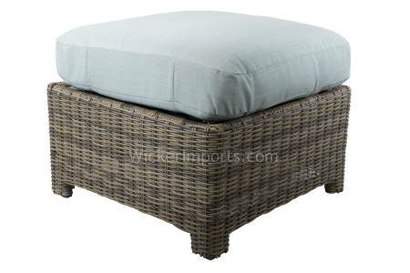 275SO Cushion - Bainbridge and Cabo Square Ottoman Replacement Cushion