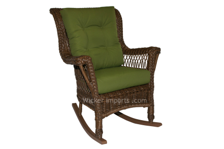 3328RB** - North Cape Bar Harbor Rocker with a back cushion