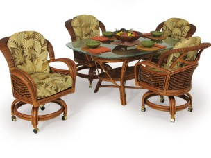 3560 - Palm Springs Boca Bay 5 Piece Dining Set