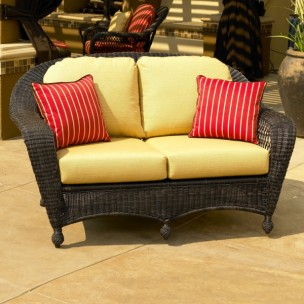 400LS Cushions   Port Royal And Charleston Loveseat Replacement Cushions