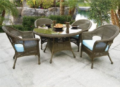 "280 Dining - North Cape Darby and Naples 48"" 5 Piece Dining Set"
