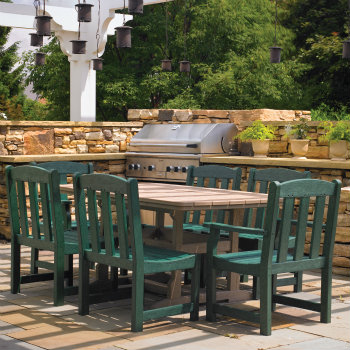 DH_1000 - 7 Piece Polywood Dining Set