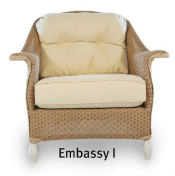 250C Cushions - Embassy I Chair Replacement Cushion