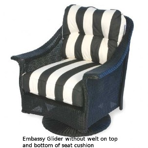 251SG Cushions - Embassy II Swivel Glider Replacement Cushion