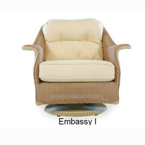 250SG Cushions - Embassy I Swivel Glider Replacement Cushion