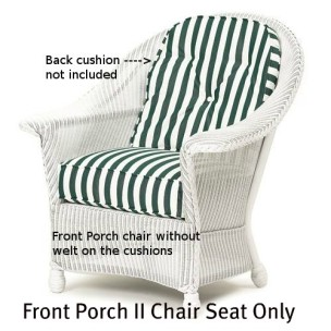 143C Cushion - Front Porch II Chair Seat Replacement Cushion