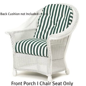 141C Cushion - Front Porch I Chair Seat Replacement Cushion
