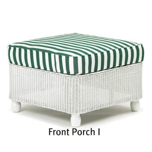 140O Cushion - Front Porch I Ottoman Replacement Cushion