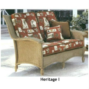 240LS Cushions - Heritage I Loveseat Replacement Cushions