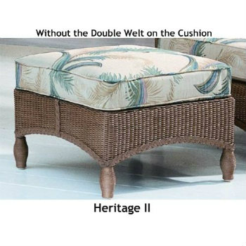 241O Cushion - Heritage II Ottoman Replacement Cushion