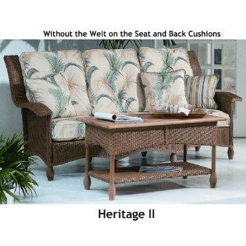 2410S Cushions - Heritage II Sofa Replacement Cushions