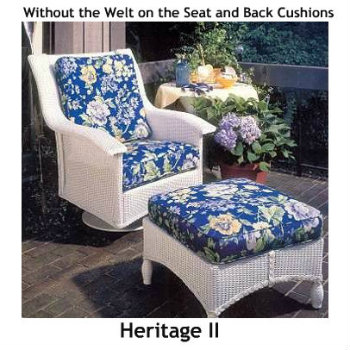 241SR Cushions - Heritage II Swivel Rocker Replacement Cushion