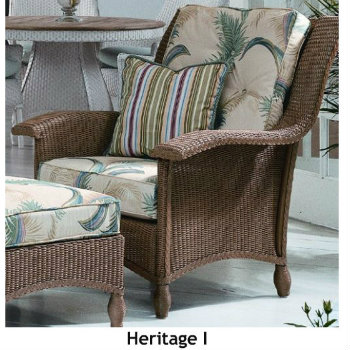240C Cushions - Heritage I Chair Replacement Cushion