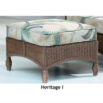 240O Cushion - Heritage I Ottoman Replacement Cushion
