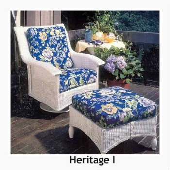 240SR Cushions - Heritage I Swivel Rocker Replacement Cushion