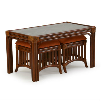 5548 - Palm Springs Islamorada Coffee Table with Stools