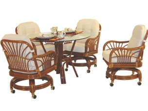 5561 - Islamorada Build a Swivel Dining Set