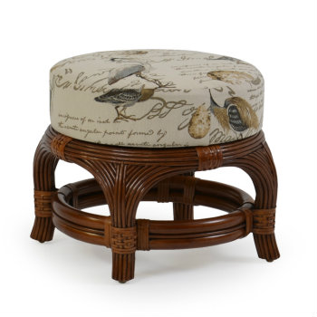 5440 - Palm Springs Island Way Round Ottoman
