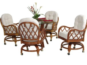 6669 - Palm Springs Jamaica 5 Piece Dining Set