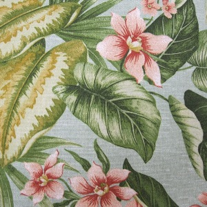 Jamaica Mist - Spun Poly Fabric on Premium Cushions