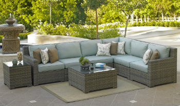 260Set8 - North Cape Melrose Sectional 8 Piece Set