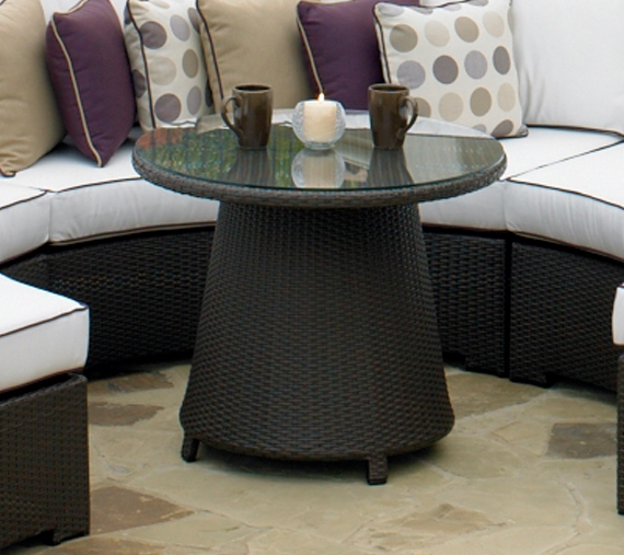 260CTR** - North Cape Melrose Round Conversation Table