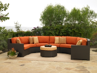 260Set6A - North Cape Melrose Sectional 6 Piece Set