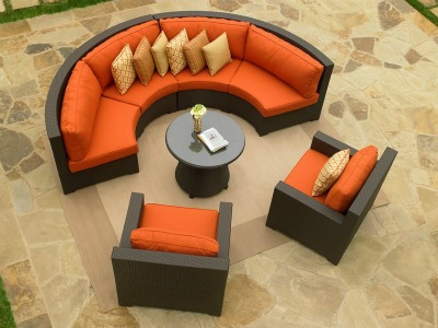 260Set5c - North Cape Melrose Sectional 5 Piece Set