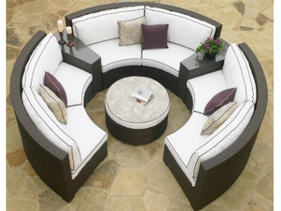260Set6C - North Cape Melrose Sectional 6 Piece Set