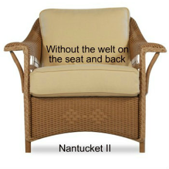 511C - Nantucket II Chair Cushion