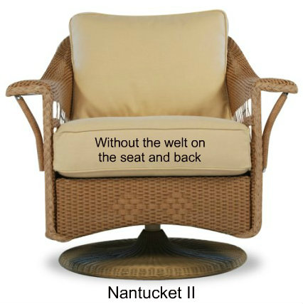 511G - Nantucket II Glider Cushions