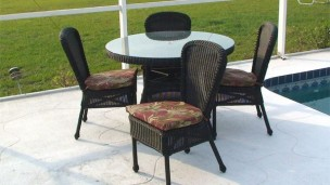 "413_42_set - North Cape 42"" 5 Piece Dining Set"