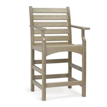 PT_507 - Piedmont Counter Stool with Arms