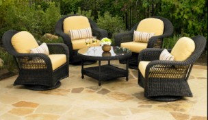 457 Chat Set  - North Cape Port Royal 5 Piece Chat Set