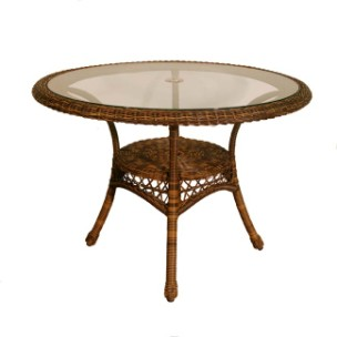 "4178DT42** - Chasco Designs Sanibel 42"" Dining  Table"