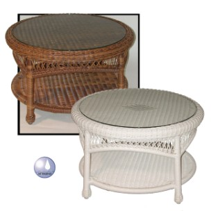 4178RCT** - Chasco Designs Sanibel Round Coffee Table