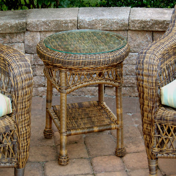 4178RET - Chasco Designs Sanibel Round End Table