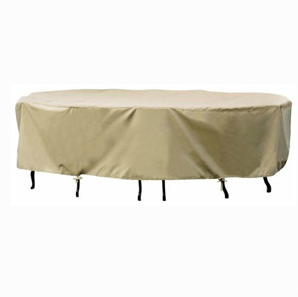 "CP551 - Treasure Gardens 48"" Rd. Dining Set Cover"