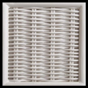 white_chasco - White Wicker Finish